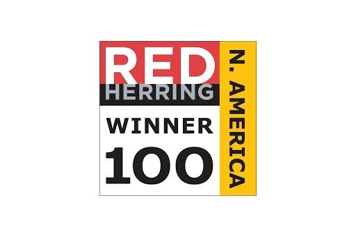 Red Herring North America Top 100 Winner logo