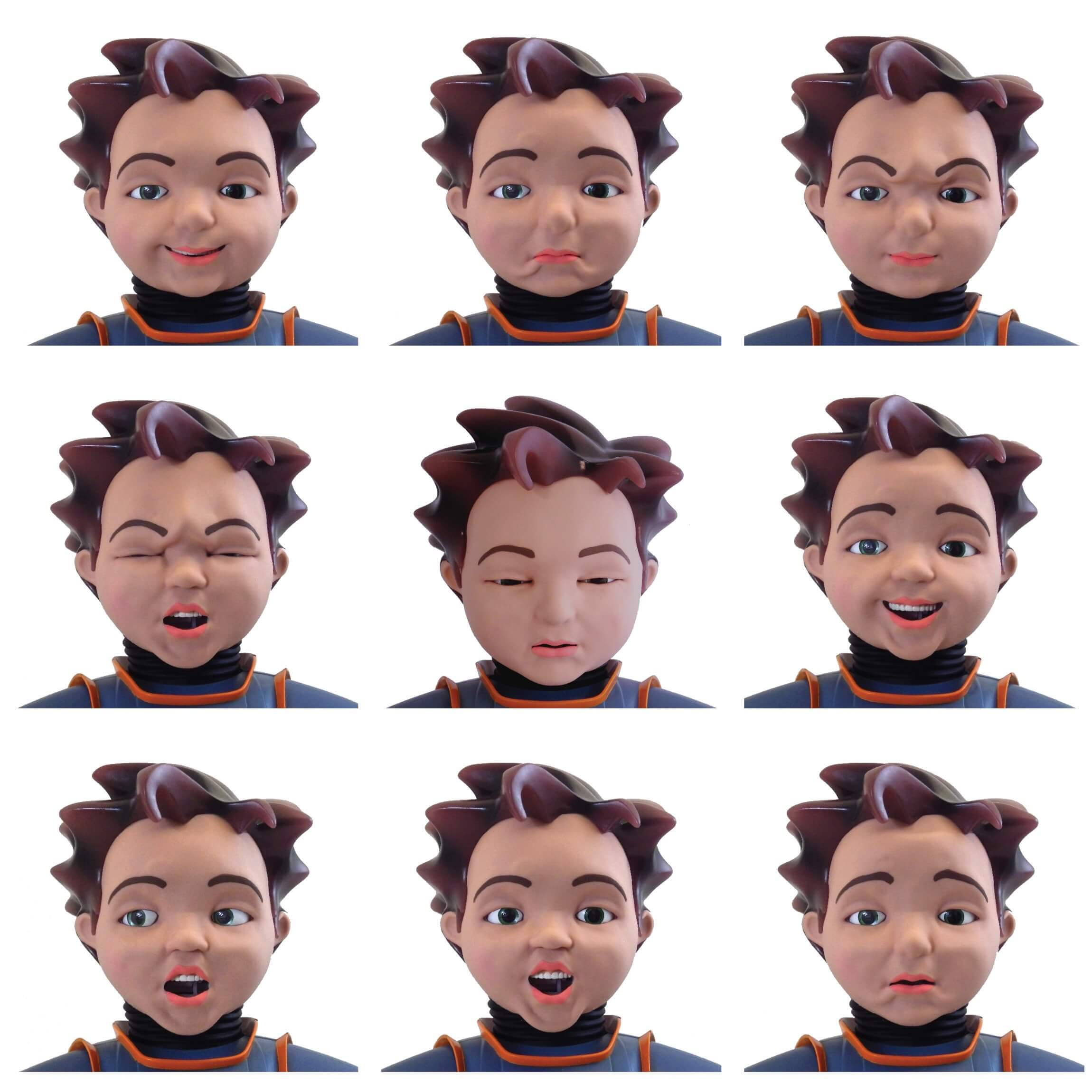 The many faces of RoboKind's Social-Emotional Robots