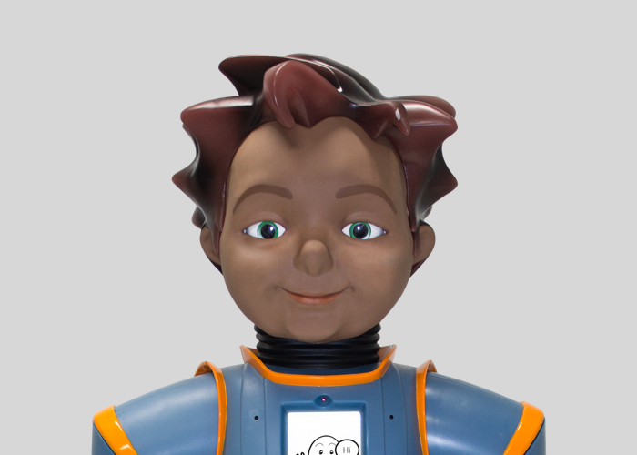 Meet Jett, our robot model focused on STEM curriculum and programs.