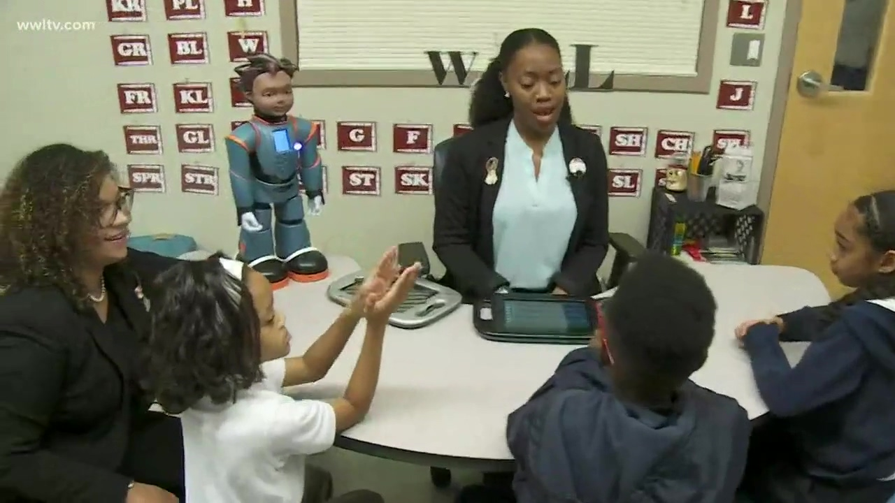 New Orleans Milo robot is changing the way students with Autism learn-thumb
