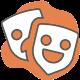 Facially-expressive robot icon